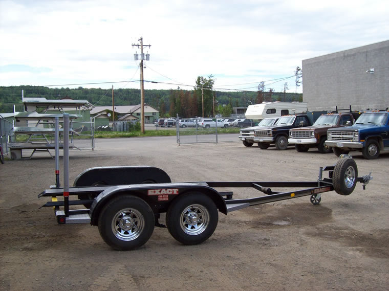 Custom boat trailers by EXwelding in Prince George BC
